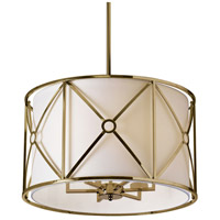 Cruz 6 Light 22 inch Vintage Brandze Pendant Ceiling Light