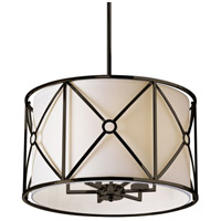 Cruz 6 Light 22 inch Vintage Oiled Brandze Pendant Ceiling Light