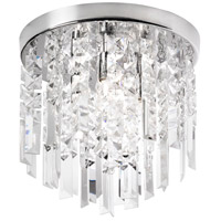 Dainolite Lighting Cubix 3 Light Chandelier in Polished Chrome  CUB-103FH-PC