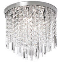 Cubix 4 Light 14 inch Polished Chrome Chandelier Ceiling Light