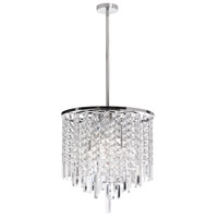 Dainolite Lighting Cubix 6 Light Chandelier in Polished Chrome  CUB-156C-PC