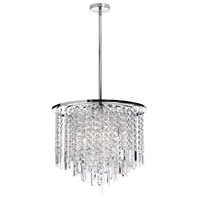 Dainolite Lighting Cubix 8 Light Chandelier in Polished Chrome  CUB-208C-PC