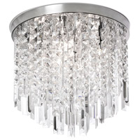 Cubix 8 Light 20 inch Polished Chrome Chandelier Ceiling Light
