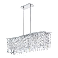Dainolite Lighting Cubix 6 Light Chandelier in Polished Chrome  CUB-366C-PC