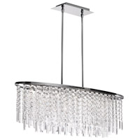 Dainolite Lighting Cubix 8 Light Chandelier in Polished Chrome  CUB-368C-PC