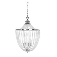 Dainolite DAW-175C-PC-CLR Dawson 5 Light 17 inch Polished Chrome Chandelier Ceiling Light