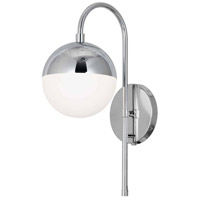 Dainolite DAY-71W-PC Dayana 1 Light 7 inch Polished Chrome Wall Sconce Wall Light