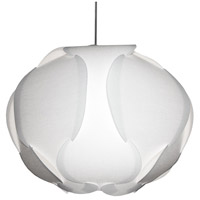 Dainolite DBC-L-790 Globus 3 Light 22 inch White Pendant Ceiling Light