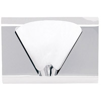 Dainolite Signature 1 Light Vanity in Polished Chrome DG9W6001-PC