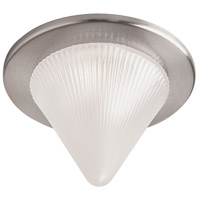 Dainolite Glass Cone Recessed Light Trim Accessory in Satin Chrome DL221-SC