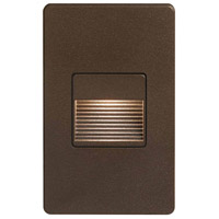 Dainolite DLEDW-200-BZ Signature LED 3 inch Bronze Wall Light Rectangle