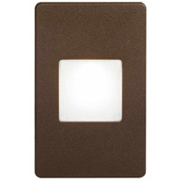 Dainolite DLEDW-245-BZ Signature LED 3 inch Bronze Wall Light Rectangle