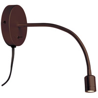 Signature LED 15 inch Oil Brushed Bronze Wall Lamp Wall Light, Horizantally Adjustable