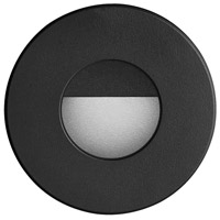 Dainolite DLEDW-300-BK Signature LED 3 inch Black Wall Light Round