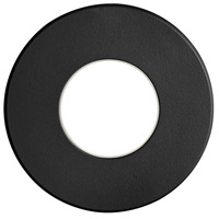 Dainolite DLEDW-310-BK Signature LED 3 inch Black Wall Light Round