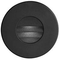 Signature LED 3 inch Black Wall Light, Round
