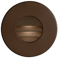 Signature LED 3 inch Bronze Wall Light, Round