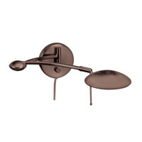 Dainolite Lighting Swing-Arm 1 Light Wall Lamp in Oil Brushed Bronze  DLHA567-W-OBB