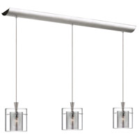 Dainolite Lighting Signature 3 Light Pendant in Satin Chrome  DLSL309-34L-CM-SC
