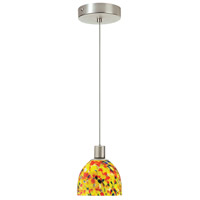 Dainolite DLSL701-YM-SC Signature 1 Light 5 inch Satin Chrome Pendant Ceiling Light thumb