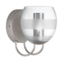 Dainolite Lighting Canopy 1 Light Wall Lamp in Satin Chrome  DLSLW8800-CF-SC photo thumbnail