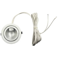 Dainolite DLST-99-WH Xeno LED Puck Light in White