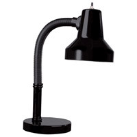 Signature 19 inch 60 watt Black Table Lamp Portable Light