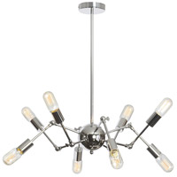Dainolite Dresden 8 Light Chandelier in Polished Chrome DRS-28C-PC
