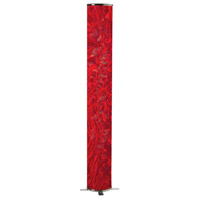 Dainolite Dainostix 1 Light Floor Lamp in Red DSTX772F