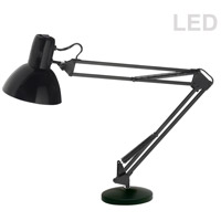 Dainolite DXLED-334B-BK Signature 36 inch 8 watt Black Desk Lamp Portable Light