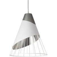 Dainolite FAR-2428-691 Farthingale LED 24 inch White Pendant Ceiling Light