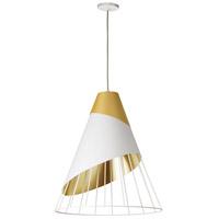Dainolite FAR-2428-692 Farthingale LED 24 inch Gold Pendant Ceiling Light