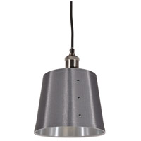 Dainolite FAY-81P-SV Fayette 1 Light 8 inch Satin Chrome Pendant Ceiling Light