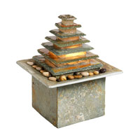 Dainolite Lighting Signature 1 Light Outdoor Fountain in Natural slate  FFN550 photo thumbnail