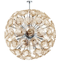 Dainolite Frangipani 20 Light Chandelier in Polished Chrome FRA-4020C-PC-CHN