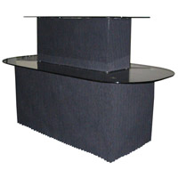 Dainolite Lighting Signature Furniture in Black and Black  GCT-111-BGL-BK