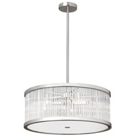 Gage 5 Light 21 inch Satin Chrome Pendant Ceiling Light