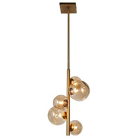 Glasglow 5 Light 11 inch Vintage Bronze Pendant Ceiling Light