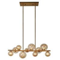 Dainolite GLA-3110HP-VB Glasglow 10 Light 31 inch Vintage Bronze Pendant Ceiling Light