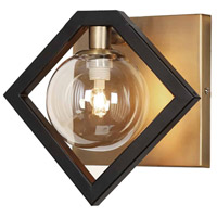 Glasglow LED 9 inch Matte Black and Vintage Bronze Wall Sconce Wall Light