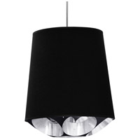 Dainolite HAD-M-697 Hadleigh 1 Light 20 inch Polished Chrome Pendant Ceiling Light