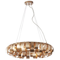 Harmony 6 Light 23 inch Champagne Pendant Ceiling Light