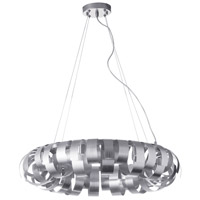Dainolite HAR-236P-SV Harmony 6 Light 23 inch Silver and Polished Chrome Pendant Ceiling Light