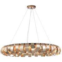 Harmony 8 Light 28 inch Champagne Pendant Ceiling Light