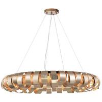Dainolite HAR-288P-CHN Harmony 8 Light 28 inch Champagne Pendant Ceiling Light