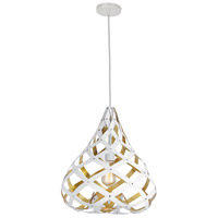 Hershey LED 15 inch Matte White Pendant Ceiling Light