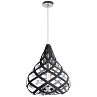 Dainolite HER-15P-697 Hershey LED 15 inch Polished Chrome Pendant Ceiling Light