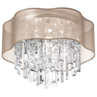 Dainolite Lighting Illusion 4 Light Chandelier in Polished Chrome  ILL-144FH-PC-811