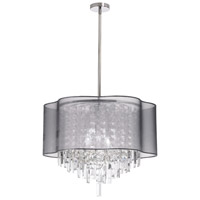 Dainolite Lighting Illusion 6 Light Chandelier in Polished Chrome  ILL-206C-PC-814