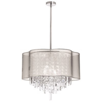Dainolite Lighting Illusion 6 Light Chandelier in Polished Chrome  ILL-206C-PC-817